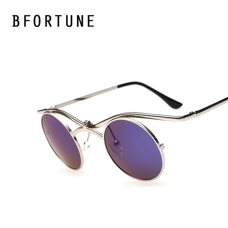 BFORTUNE Retro Steampunk Mens Sunglasses Men Women Brand Designer Vintage Fashion Sun Glasses Lentes De Sol Mujer Feminino Gafas