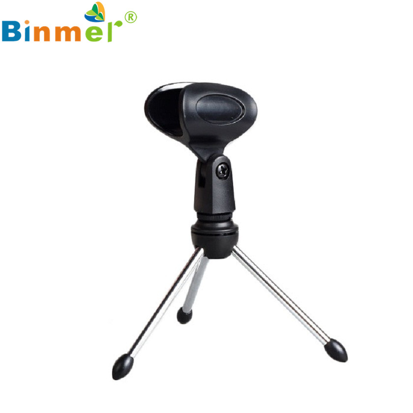 Adroit Adjustable Metal Desk Top Mic Microphone Clamp Clip Holder Stand font b Tripod b font
