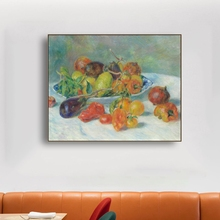 Still Life by Auguste Renoir Wall Art Canvas Painting Calligraphy Poster and Print Decorative Picture for Living Room Home Decor