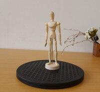 25 cm Swivel Plattenspieler Skulptur Machen Platte form Keramik Rad Drehen Plattenspieler Lazy Susan 360 Grad Lehm Bastelbedarf