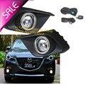 2 pçs/set modificada Para Carros de alta qualidade Luz Fog Lâmpada Luz para Mazda 3 Axela 2013-2016