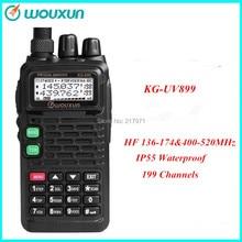 WOUXUN KG-UV899 Dual Band Radio Ham Radio 136-174&400-520MHz Walkie Talkie