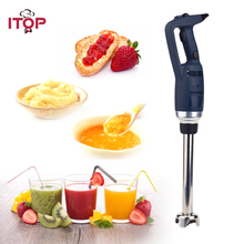 ITOP Commercial 350W Immersion Blender Professional Hand Held Blender With Whisk Food Mixers High Speed Blenders 110V/220V itop hand held blender portable immersion blender electric food blender mixer kitchen food processor egg beater with whisk