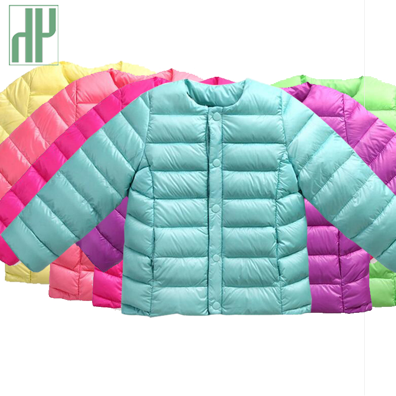 HH New Kids winter coat Candy color White Duck Down jacket for girl Boy baby outerwear children parka Christmas Costume Clothes