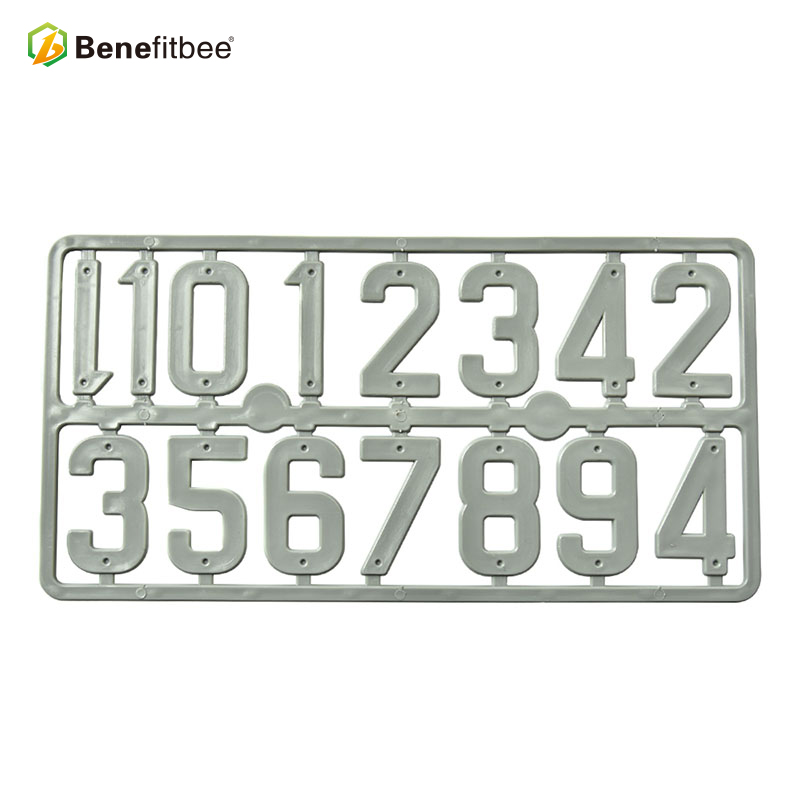 Image 4 - Benefitbee 3PCS/pack Plastic Beehive Sign Digital Number Box Sign Hive Mark tool Beekeeping Marking Board Beehive Numbers-in Beekeeping Tools from Home & Garden