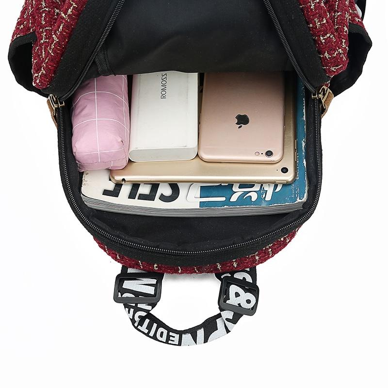 2019 New Women Emoji Shoulder Bag Best Travel Women Backpack Female Printing Waterproof School Knapsack mochila Bagpack Pack 6