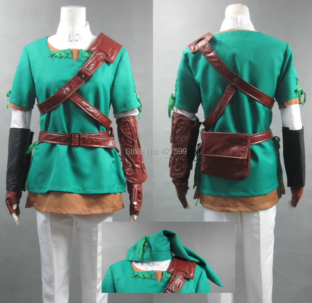 the legend of zelda link cosplay costume halloween costumes with free shipping in anime costumes from novelty special use on aliexpresscom alibaba