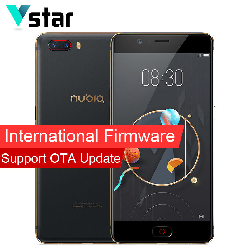 International Firmware Original Nubia M2 4GB RAM 128GB ROM Snapdragon 625 Octa Core 64 bit Mobile