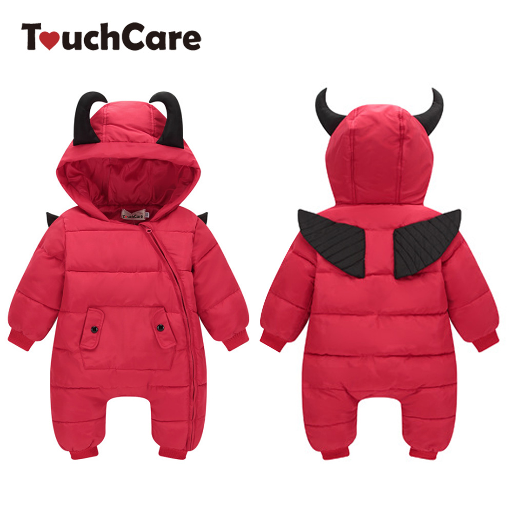 Jumpsuit Hat Shoes Animal Style Warm Hooded Baby Rompers Winter Boys Girls Footie Clothes Outfits Newborn