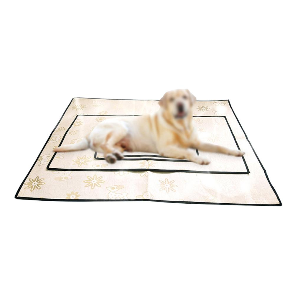 Pet Dog Cooling Mat Summer Silk Cooling Pad Pet Dog Cat Pad for Travel Dogs Crate Pad Car Use Dog Mattress