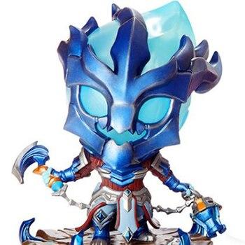 Mới với Box League Legends Lord of The Chain Warden Thresh Game PVC Action Hình lol Sưu tập Mô hình Đồ chơi Sáng tạo Quà tặng 10cm liên minh huyền thoại