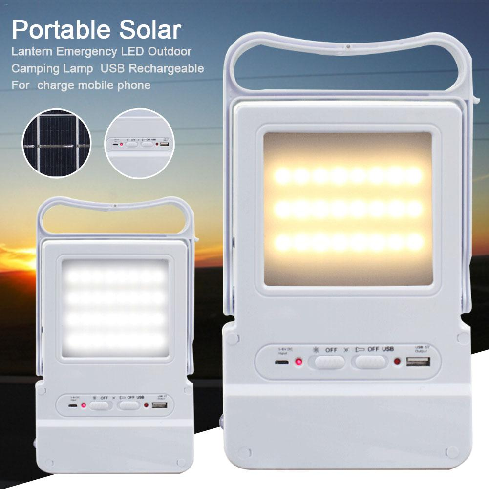 Portable Solar LED Lantern Mini Flood Light Emergency LED Outdoor Camping Lamp USB Rechargeable For Charge Mobile Phone genuine leather women bag large capacity tote bag big ladies shoulder bags famous brand bolsas feminina fashion women handbag