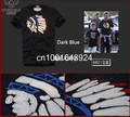 Camisetas 2017 de Los Hombres 100% Algodón Primavera Verano Camisetas Hombre Corto Diseño de Marca Hombre Camisetas de Alta Calidad Superior de la manga Tee F001 JMS