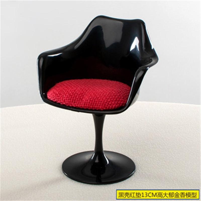New Fashion 1:6 Size Tulip Side Chair Miniature Dollhouse