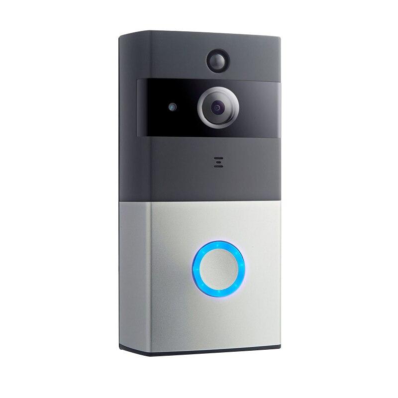 Wireless Security Doorbel IP Video Intercom WI-FI Video Door Phone Door Bell WIFI Doorbell Camera For Apartments IR Alarm Camera