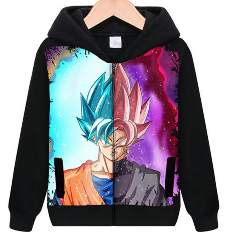 Pullover Hoodie Son Goku dragonball