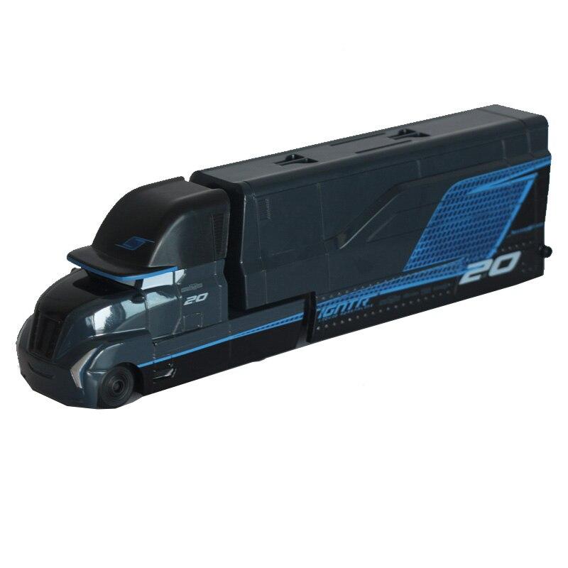 Disney Pixar Cars 3 Jackson Storm Uncle Truck 23cm Lightning McQueen Diecast Metal Alloy Plastic Model Car Toys For Kids