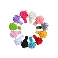 New Coming Lovely More Funny 12PcS Headbands Flower Hairband Hairdress Children S Fashion Cute Girl Flower