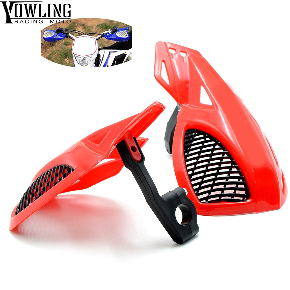 Dirt bike Motorcycle 22mm handlebar brake guard For HONDA CR <font><b>CRF</b></font> SL XR CRM 80 85 125 150 230 250 400 <font><b>450</b></font> 650 1000 R X AR M L image