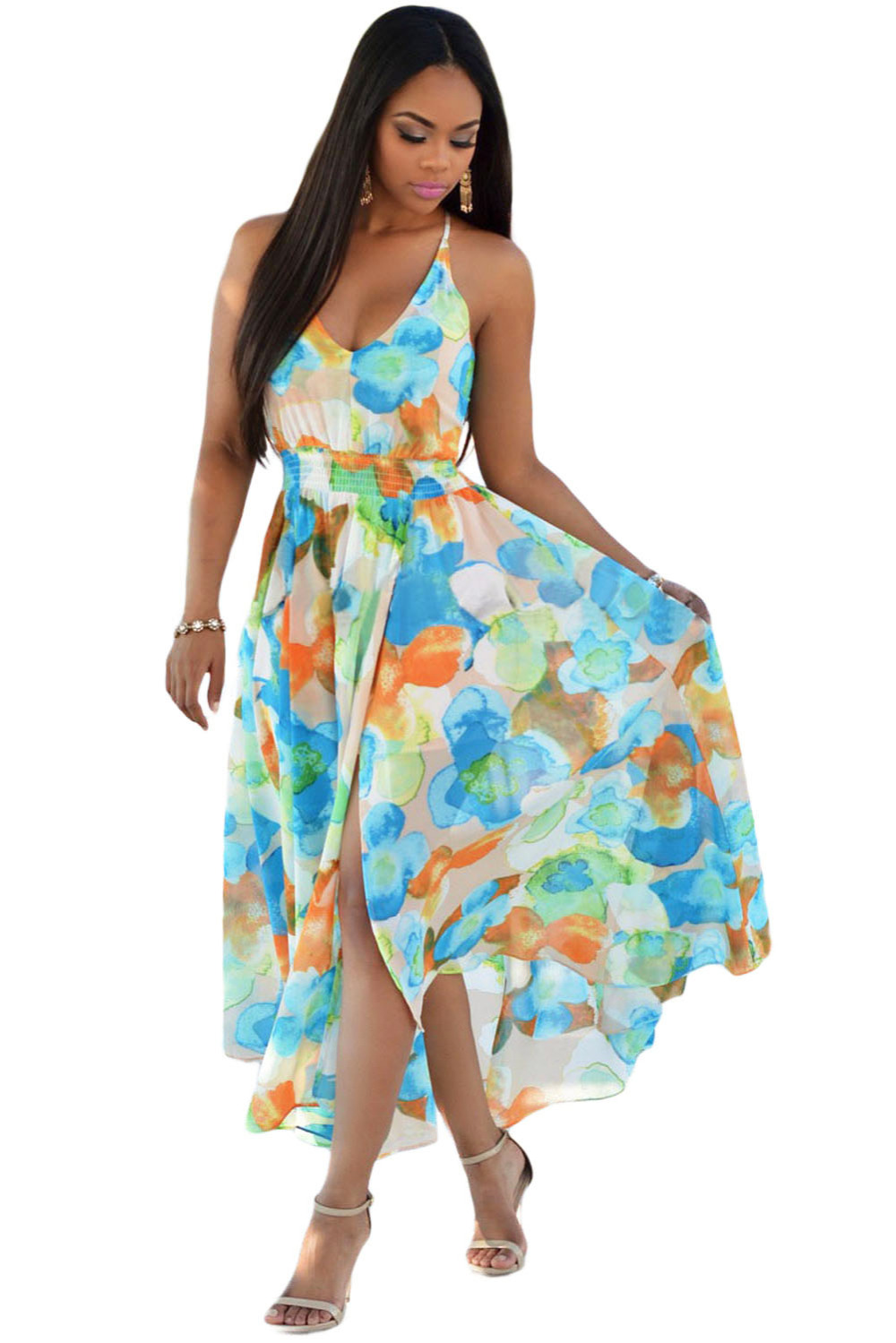 Long Floral Dresses Cheap Dress On Sale