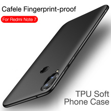 Купить с кэшбэком CAFELE Original Soft Phone Case for Xiaomi Redmi Note 7 8 pro Ultra Thin TPU Cover for Redmi Note7 8 pro Silicone Protect Case