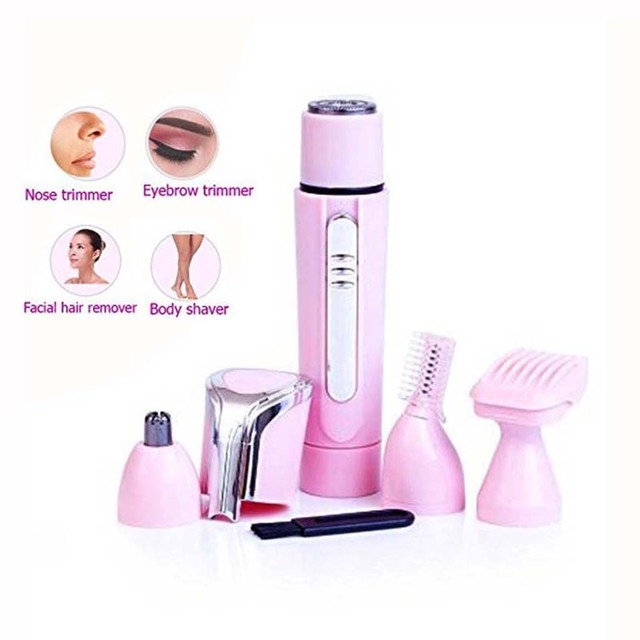 Women's Electric Eyebrow Epilator Trimmer Hair Removal Hair Remover Shaver Machine For Leg Eyebrow Bikini Facial Epilator
