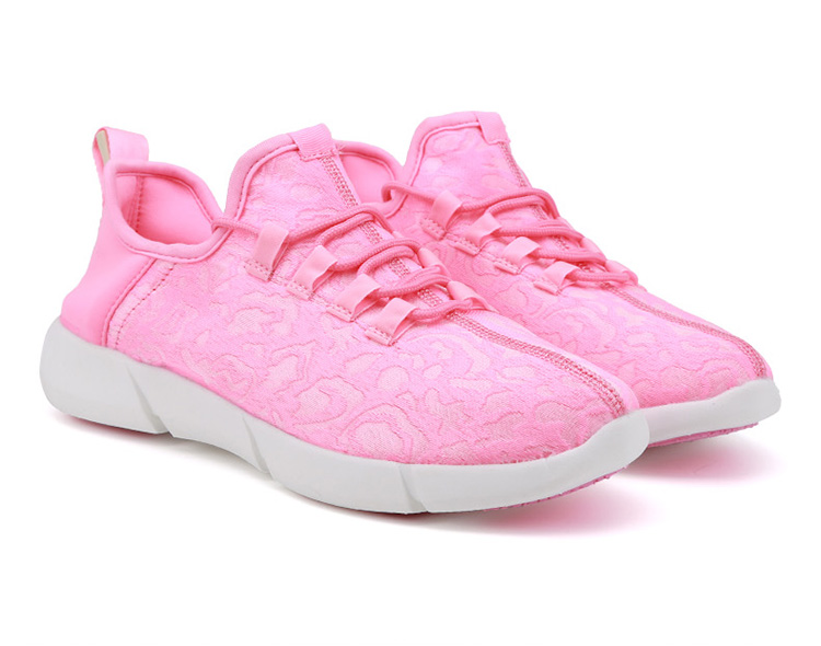 Carregamento Led Branco Crianças Sapatos Com Luz