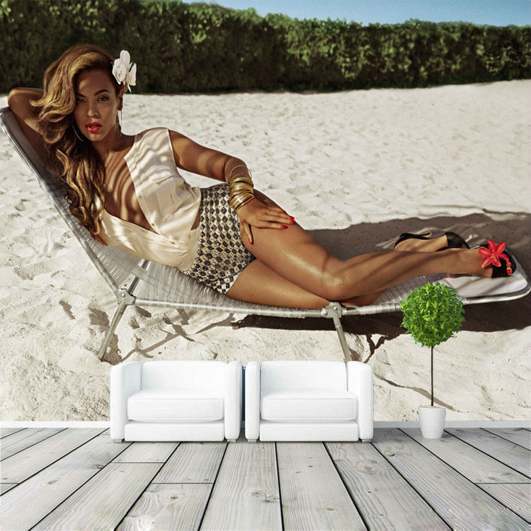 aliexpress com buy beyonce photo wallpaper fashion fashion wall mural collection mr perswall