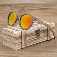 BOBO BIRD Unisex Sunglasses Wooden Cork Frame Polarized Sun Glasses UV Protection oculos de sol feminino