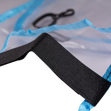 1PC Car Seat Back Kick Protector Mad Pad PVC Cover For Baby Children Waterproof Seat Back Cove Black/Blue Color(China)