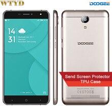 Origine DOOGEE X7 Pro ROM 16 GB + RAM 2 GB Réseau 4G 6.0 »2.5D Android 6.0 MTK6737 64-Bit Quad Core Double SIM Écran IPS WCDMA et LTE