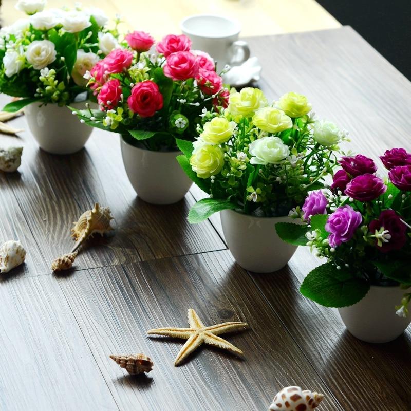 Cute Little Pot! Artificial Flowers Artificial Flowers