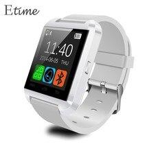 U8 bluetooth reloj de pulsera de reloj para samsung s4/note 2/note 3 htc lg huawei xiaomi teléfono android smartphones 2016 nuevo # k