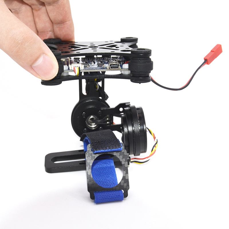 Gopro3 Lightweight 2-AXIS Brushless Gimbal Board with Sensor Free Debug for FPV Airplane RC drones цена