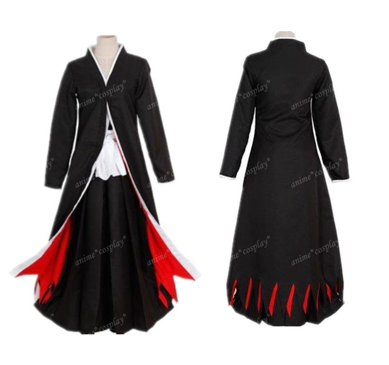 Bleach Ichigo Kurosaki Bankai Cosplay Party Costume unisex Any Size A016