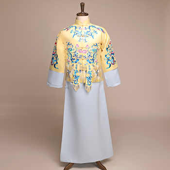 Classic Embroidery Asian Bridegroom Wedding Costume Men Chinese Traditional Marriage Clothes Vintage Oriental Male Tang Suit - DISCOUNT ITEM  30% OFF All Category