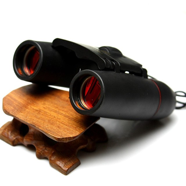 Compact Folding Binoculars with Night Vision