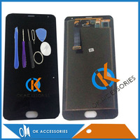 For Meizu MX5 LCD Display Touch Screen Digitizer Assembly Black White Color 1PC Lot Free Shipping