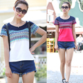 New Fashion T Shirt Women Short Sleeve Female T-shirt Cotton Summer T-shirts For Women Plus Size Tshirt Woman Camisetas Mujer