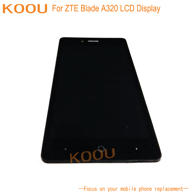 US $30 78 |LCD Display For ZTE Blade A320 Touch Screen Digitizer Assembly  Replacement Parts Accessories For ZTE Blade A320-in Mobile Phone LCD  Screens