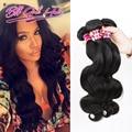 Pelo peruano de la Virgen la Onda Del Cuerpo 8A Sin Procesar Virginal Cuerpo Onda Pelo Qingdao Hot Hair Products Armadura de la Reina de Belleza de la onda Humana