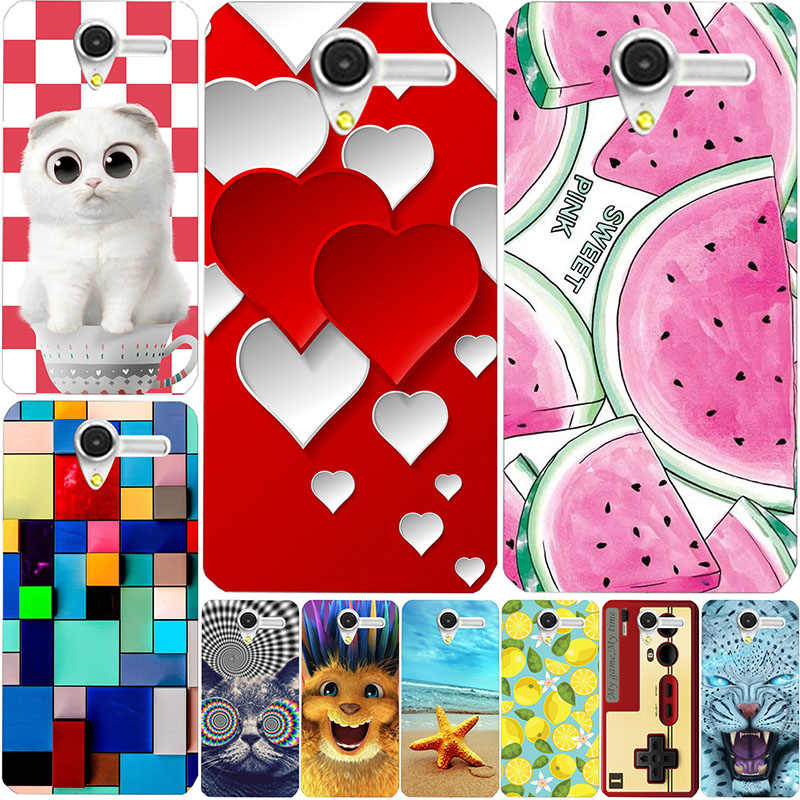 June New Styel For Alcatel One Touch Pop 3 Pop3 5.0 5015 5015D 5015X 5065 5065D 5065X Floral Silicon Soft TPU Back Cover Cases