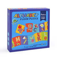 2.0M Alphabet Cognition Floor Puzzle Chunks Puzzle Paper Puzzle Early Education Enlightenment Puzzle Toys Kids Gift