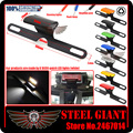 Motocycle Accessories LED License Plate Led Light fits For KAWASAKI ZXR400 ZR-X GPZ ZZR1100 GPX