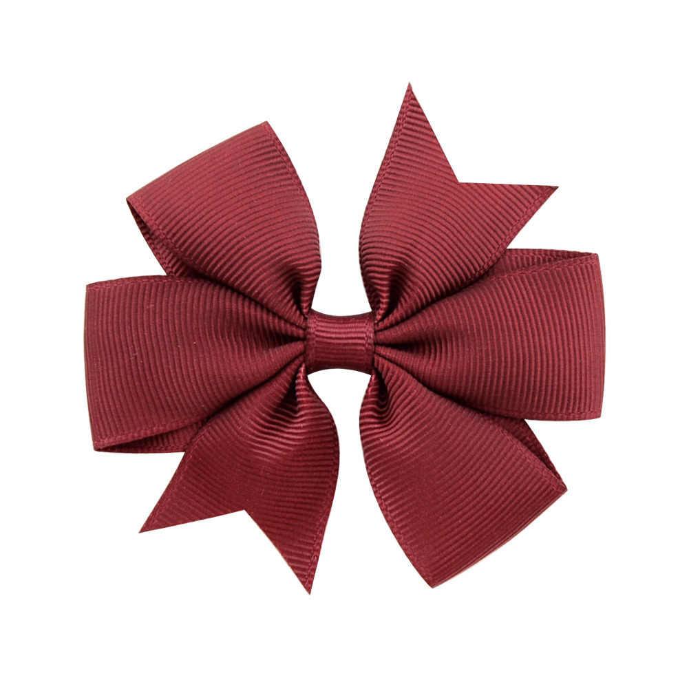 1 Pcs Merah Muda Yang Mendalam Pin Anak Gadis Klip Hairband Bobby Jepit Bulang Aksesoris Kecantikan Alat Styling Baru Bayi