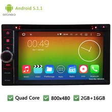 Quad Core 16GB DAB+ RDS Android 5.1.1 2 Din WIFI FM BT USB Universal Car DVD Player GPS Stereo Radio PC Screen For Nissan NV200