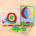 2020 новая детская игрушка DIY Hairball ручные подарки для девочек липкая бумага для рисования детского сада Материал Дети ремесла игрушки для дет...
