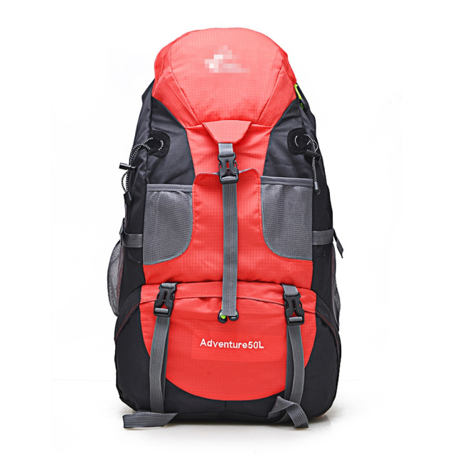 50L Mountaineering Camping Hiking Backpacks Waterproof Molle Sport Bag Rucksack