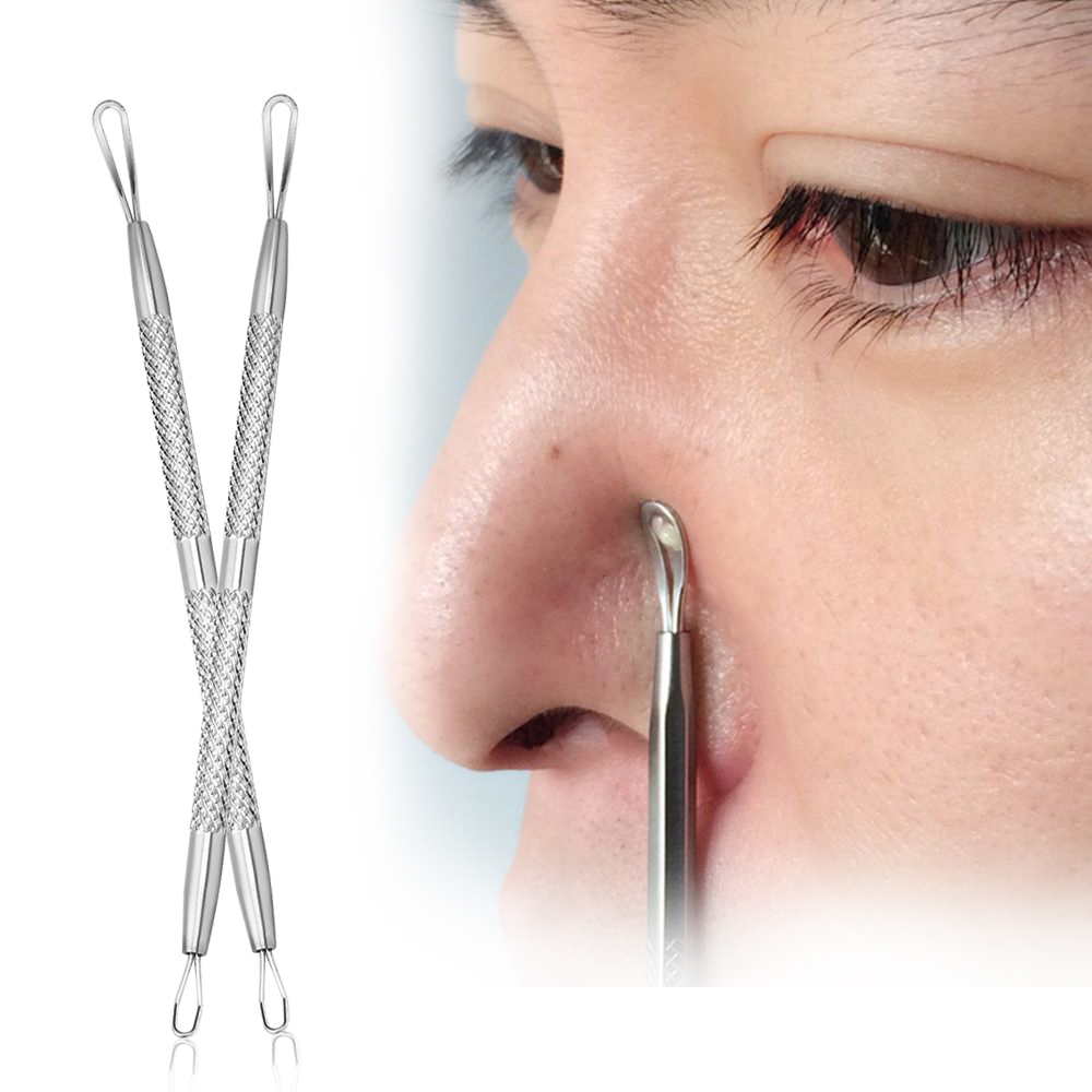 1PC New Convenient Professional Stainless Steel Blackhead Remover Needles Comedone Acne Pimple Blemish Extractor Tool