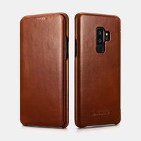 Vintage Luxury Genuine Leather Original Phone Case for Samsung S10 Plus S10 Note 9 8 S9 Plus S8 Plus Full Edge Closed Flip Cover